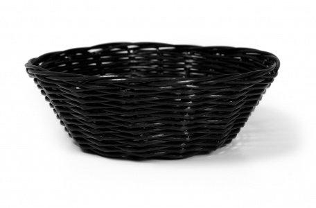 Zodiac c03002 K-c cesta de mimbre redondo, 18 cm/7 ', negro 18cm/7 C03002K-C