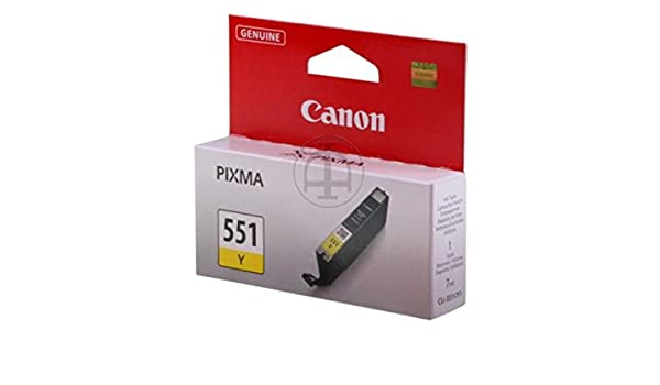 Canon Pixma MG 6450 (CLI-551 Y / 6511 B 001) - original: Amazon.es ...