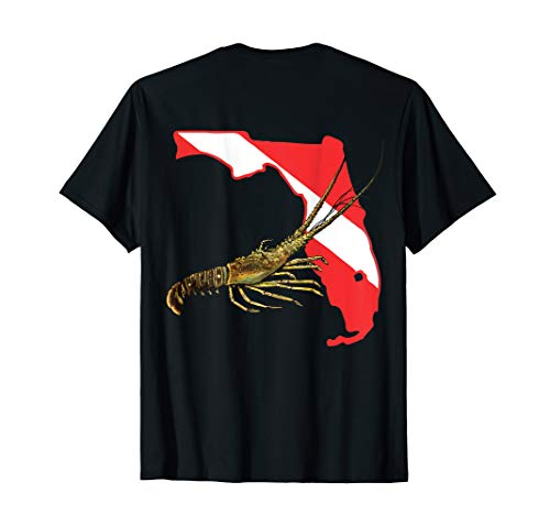 - Florida Lobster Dive T-shirt