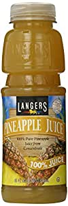 Langers Pineapple Juice, 16-Ounces (Pack Of 12)