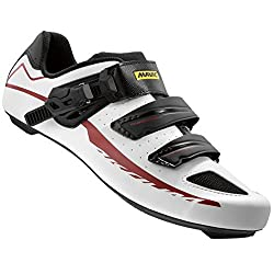 Mavic Aksium Elite Ii Shoes - Men's Whiteblackred, 7.0