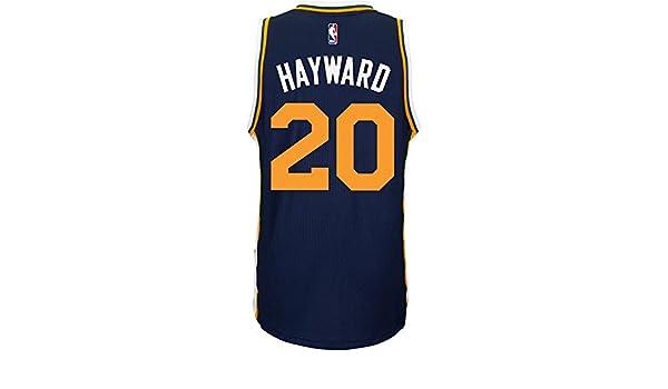 2a6034d0b Amazon.com   adidas Utah Jazz Gordon Hayward NBA Men s New Swingman Jersey  (XX-Large)   Sports   Outdoors