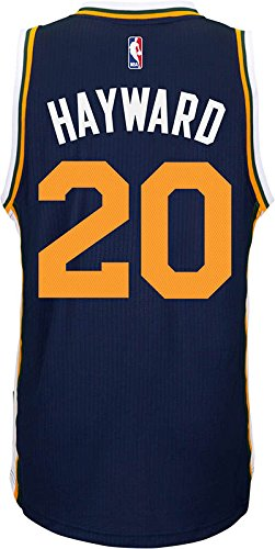 6b5d7d514 adidas Utah Jazz Gordon Hayward NBA Men s New Swingman Jersey (XX-Large)