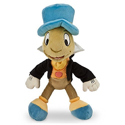 (Disney Jiminy Cricket Plush - Mini Bean Bag - 9'' by Pinocchio)