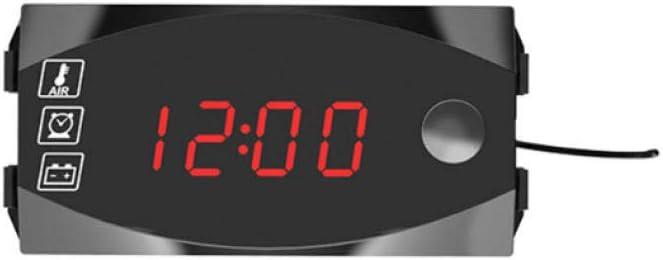 12 V 3 In 1 Digital Led Anzeige Meter Voltmeter Uhr Thermometer Anzeige Anzeige Panel Meter Für Auto Motorrad Auto