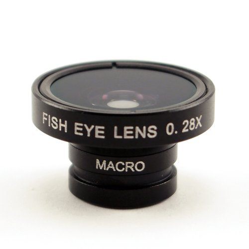 Wide Macro Ultra Zoom Lens x 0 28 System For Smartphone (Black)の商品画像