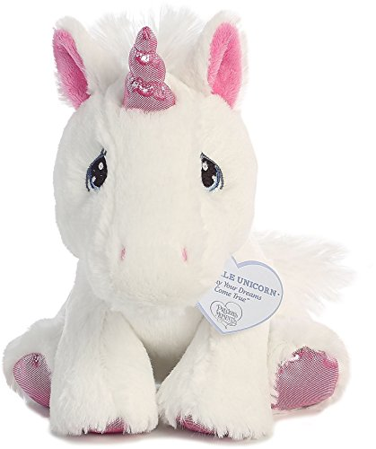 Sparkle Unicorn 8 inch – Baby Stuffed Animal by Precious Moments (15713)