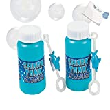 Bargain World Plastic Shark Tank Bubble Bottles (With Sticky Notes)