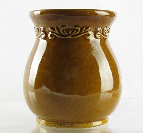 Tealight Tart Warmer - Old World Golden Yellow
