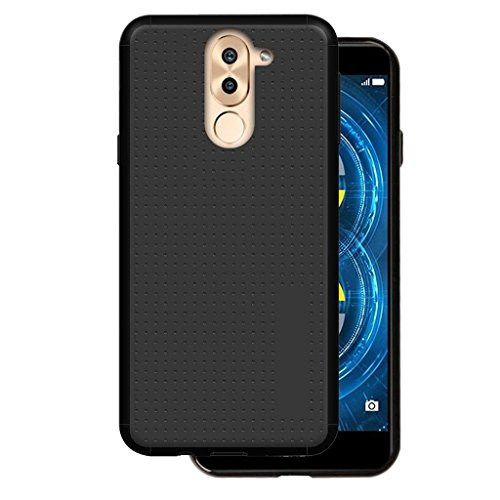 Karimobz Black Back Cover for Huawei Honor 6X