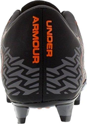 Under Armour Mens UA CF Force 2.0 FG Soccer Cleats (7 D(M) US, Black/ Graphite/ Blaze)