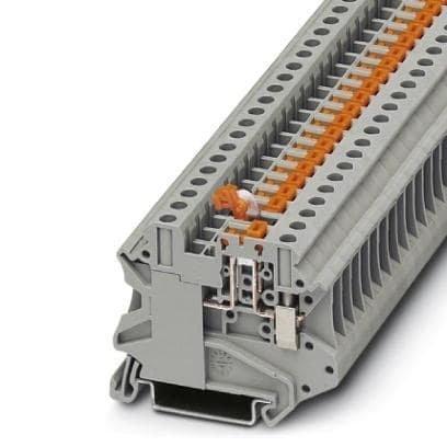 DIN Rail Terminal Blocks UT 4-MT KNIFE DISCON TERM BK (1 (Contact Terminal Block)
