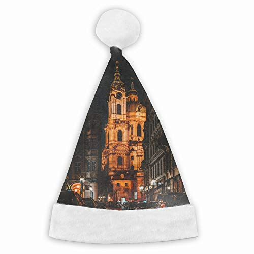 Night City Cars Funny Party Hats Santa Hats - Christmas Novelty Hats]()
