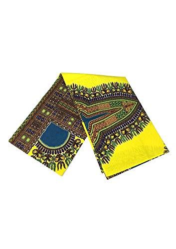- African Head Wrap Dashiki Extra Long 72