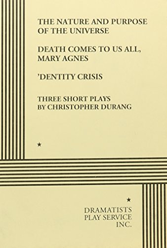 Three Short Plays by Christopher Durang - Acting Edition