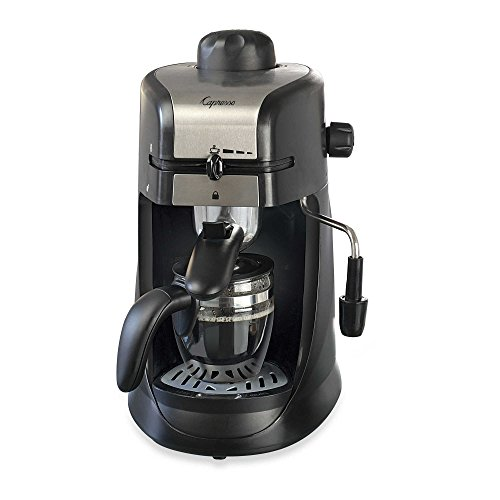 Capresso 304.01 Steam Pro 4-Cup Espresso & Cappuccino Machine by aSavings