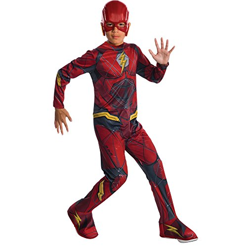 (Rubie's Costume Boys Justice League The Flash Costume, Large,)