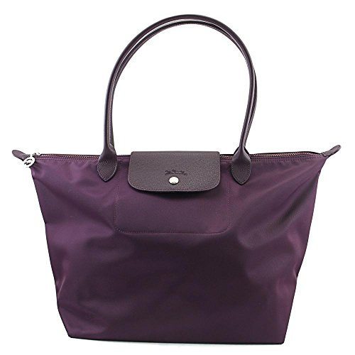 Longchamp Women's Le Pliage Neo Large Shoulder Tote Bag, Bilberry, OS