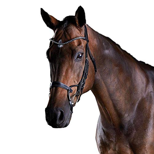 (Weatherbeeta, Collegiate Comfitec Crystal Bridle, Black, Warmblood )
