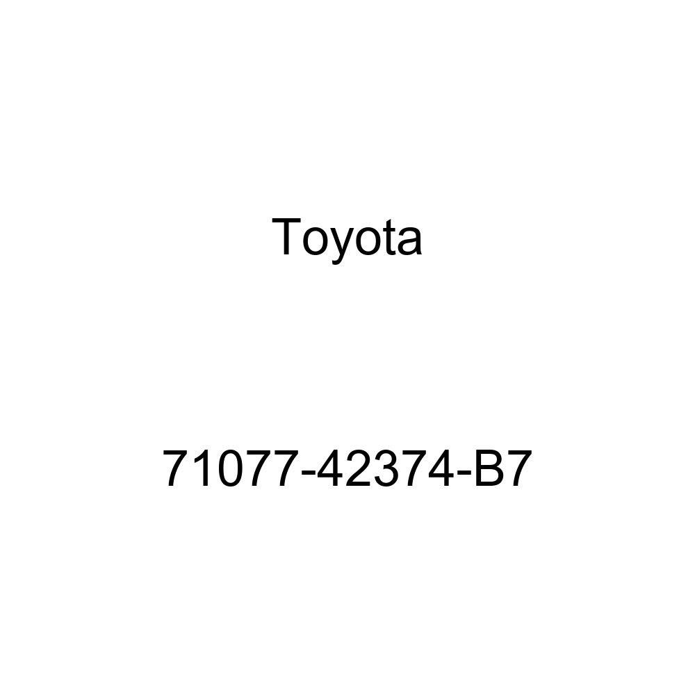 TOYOTA Genuine 71077-42374-B7 Seat Back Cover