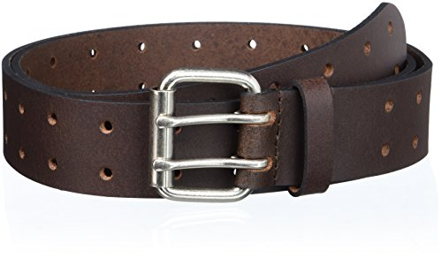 Dickies Men's 1 3/8 in. Genuine Leather Belt (Standard & Big and Tall Sizes),Brown,38