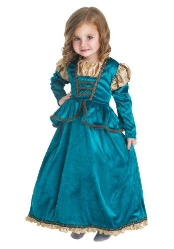 Little Adventures Scottish Princess Dress Up Costume Size