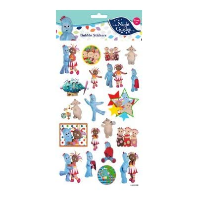 In The Night Garden Stickers Bubble 3001: Toys & Games