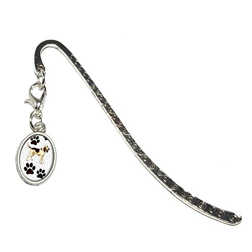 Graphics and More Bloodhound Dog of Marvelousness Metal Bookmark Page Marker with Oval Charm