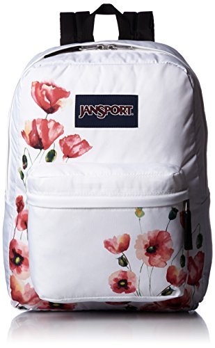 JanSport Superbreak Backpack- Sale Colors (Multi California Poppy)