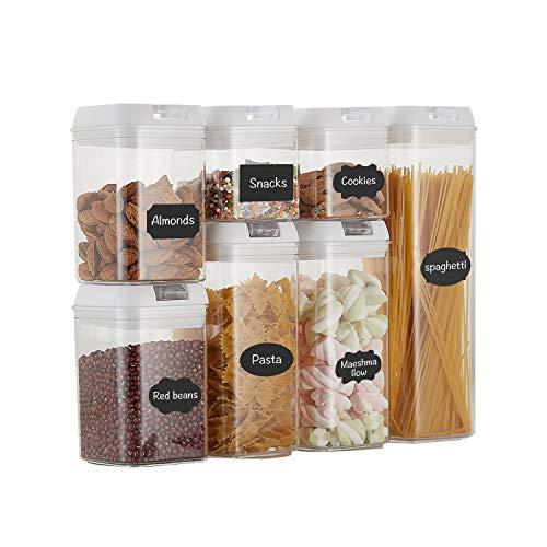 Top Taste Airtight Food Storage Containers set - 7 PC Set -BPA Free