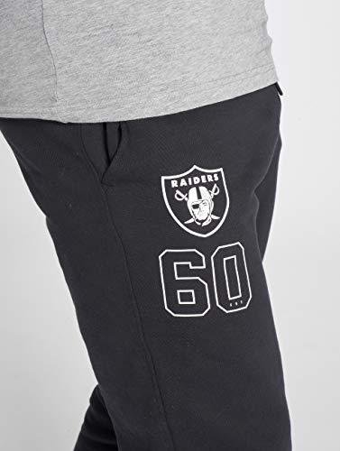 Pantaloni New pantalone Raiders Uomo Oakland Era Nero Ginnico qrSrpEx
