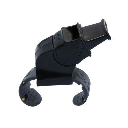 Fox 40 Sonik Blast Official Finger Grip Whistle (Black) ()