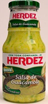 Herdez Salsa de Guacamole - 670 grams (Pack of 2)