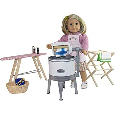 American Girl Kit's Washday Set New with Box: Toys & Games