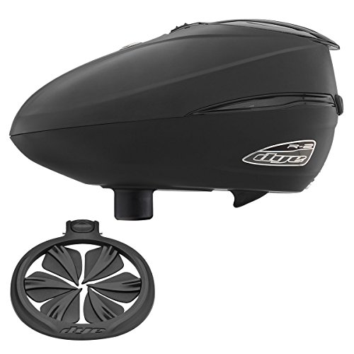 Dye Rotor R2 Paintball Loader & Quick Feed Combo - Black by Dye