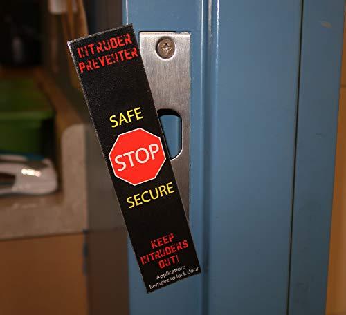 7, 10, 50, 100 Pack - Full Size Lockdown Magnetic Strips for School  Lockdowns - Classroom Intruder Defense System - Security Door Frame Strike  Plate