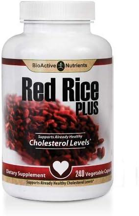 Red Rice Plus 240 Vegetable Capsules