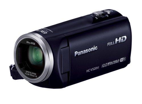 Panasonic デジタルハイビジョンビデオカメラ V520 内蔵メモリー32GB ダークネイビー HC-V520M-A