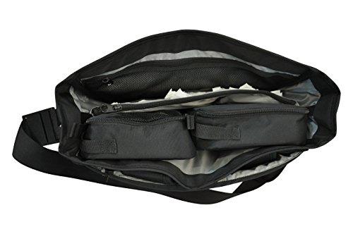 Obersee Madrid Convertible Diaper Backpack Messenger Bag, Pink