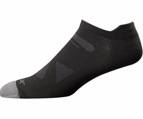 Fox Men's Low Rise Sock, Black, Large/X-Large