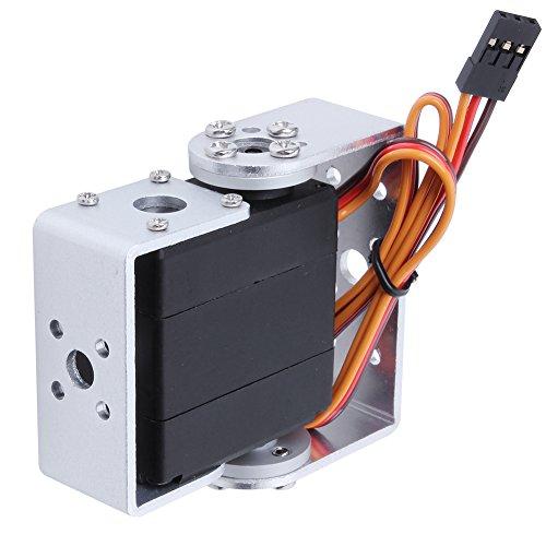 Hobbypark HDR315M 15kg Digital High Torque RC Robot Servo Motor 180 Degree Metal Gear 2BB with U Mouting Case