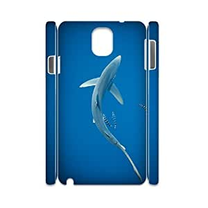 case Of Deep Sea Shark 3D Bumper Plastic customized case For samsung galaxy note 3 N9000