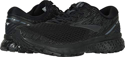 Brooks Men's Ghost 11 Black/Ebony 7 D US by Brooks (Image #3)