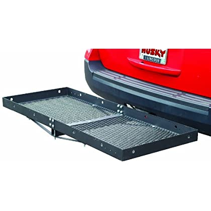 Image of Cargo Baskets Husky 81148 Extra Wide Steel Cargo Carrier - 500 lb. Capacity