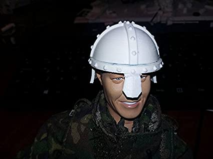 """Medieval Period Soldiers Helmet Accessory for 12/"""" Action Figure 1:6 scale"""