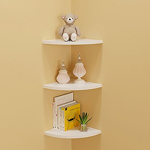 floating corner shelf
