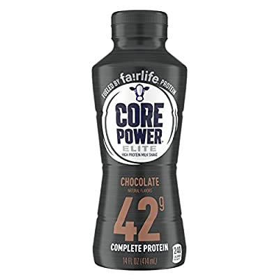Core Power Elite High Protein Drink, 42 Grams of Protein, 12 Count