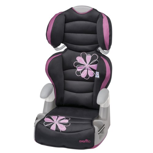 Evenflo Amp High Back Booster Car Seat, Carrissa (Evenflo Amp High Back Booster Car Seat Carrissa)