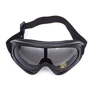 7350a7e64dbd63 ... Lunettes de Protection Masque de Visage Incassable Anti-UV Coupe-Vent  Anti-Poussière Anti-Sable Anti-Brouillard pour Activités Extérieurs Vélo  Moto ...