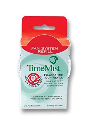 TimeMist 304601TMCT Fragrance Cup Refill, Apple & Spice, 1oz (Case of 12)